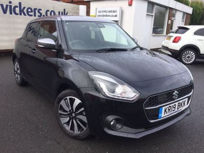 Suzuki Swift 1.0 Boosterjet SZ5 Auto 5dr Hatchback Petrol Black at Suzuki UCL Milton Keynes