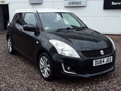 Suzuki Swift 1.2 SZ-L 5dr Hatchback Petrol Black at Suzuki UCL Milton Keynes