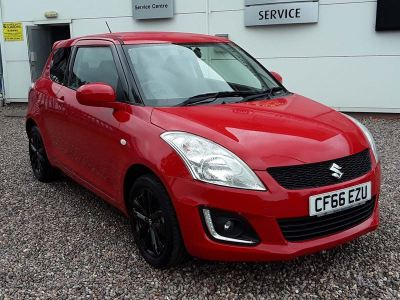 Suzuki Swift 1.2 SZ-L 3dr Hatchback Petrol Red at Suzuki UCL Milton Keynes
