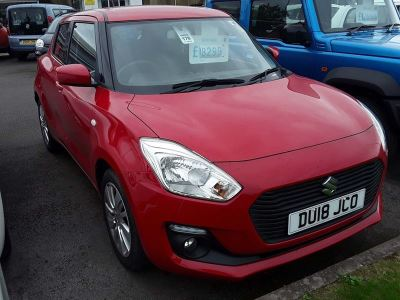 Suzuki Swift 1.0 Boosterjet SZ-T 5dr Hatchback Petrol Red at Suzuki UCL Milton Keynes