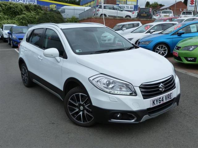 Suzuki Sx4 S Cross 1.6 SZ5 ALLGRIP Hatchback Petrol WhiteSuzuki Sx4 S Cross 1.6 SZ5 ALLGRIP Hatchback Petrol White at Suzuki UCL Milton Keynes