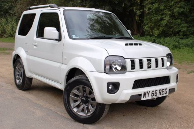 Suzuki Jimny 1.3 VVT SZ4 3dr, IN STOCK AVAILABLE FOR IMMEDIATE DELIVERY Four Wheel Drive Petrol Cool Pearl WhiteSuzuki Jimny 1.3 VVT SZ4 3dr, IN STOCK AVAILABLE FOR IMMEDIATE DELIVERY Four Wheel Drive Petrol Cool Pearl White at Suzuki UCL Milton Keynes
