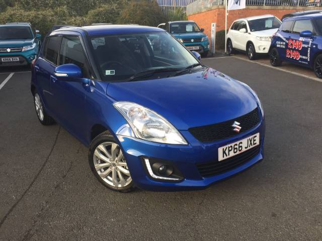 Suzuki Swift 1.6 1.2 SZ4 [Nav] 5dr Auto Hatchback Petrol Boost BlueSuzuki Swift 1.6 1.2 SZ4 [Nav] 5dr Auto Hatchback Petrol Boost Blue at Suzuki UCL Milton Keynes