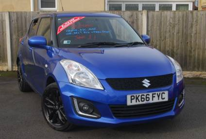 Suzuki Swift 1.2 SZ-L [Nav] 5dr Hatchback Petrol Boost Blue Metallic