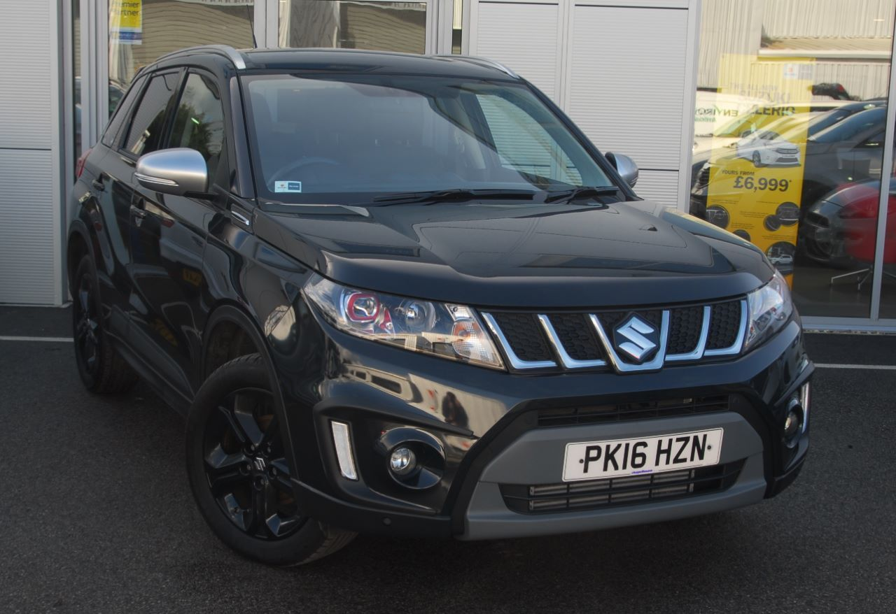 second hand suzuki vitara 1 4 boosterjet s allgrip 5dr for sale in southport lancashire. Black Bedroom Furniture Sets. Home Design Ideas