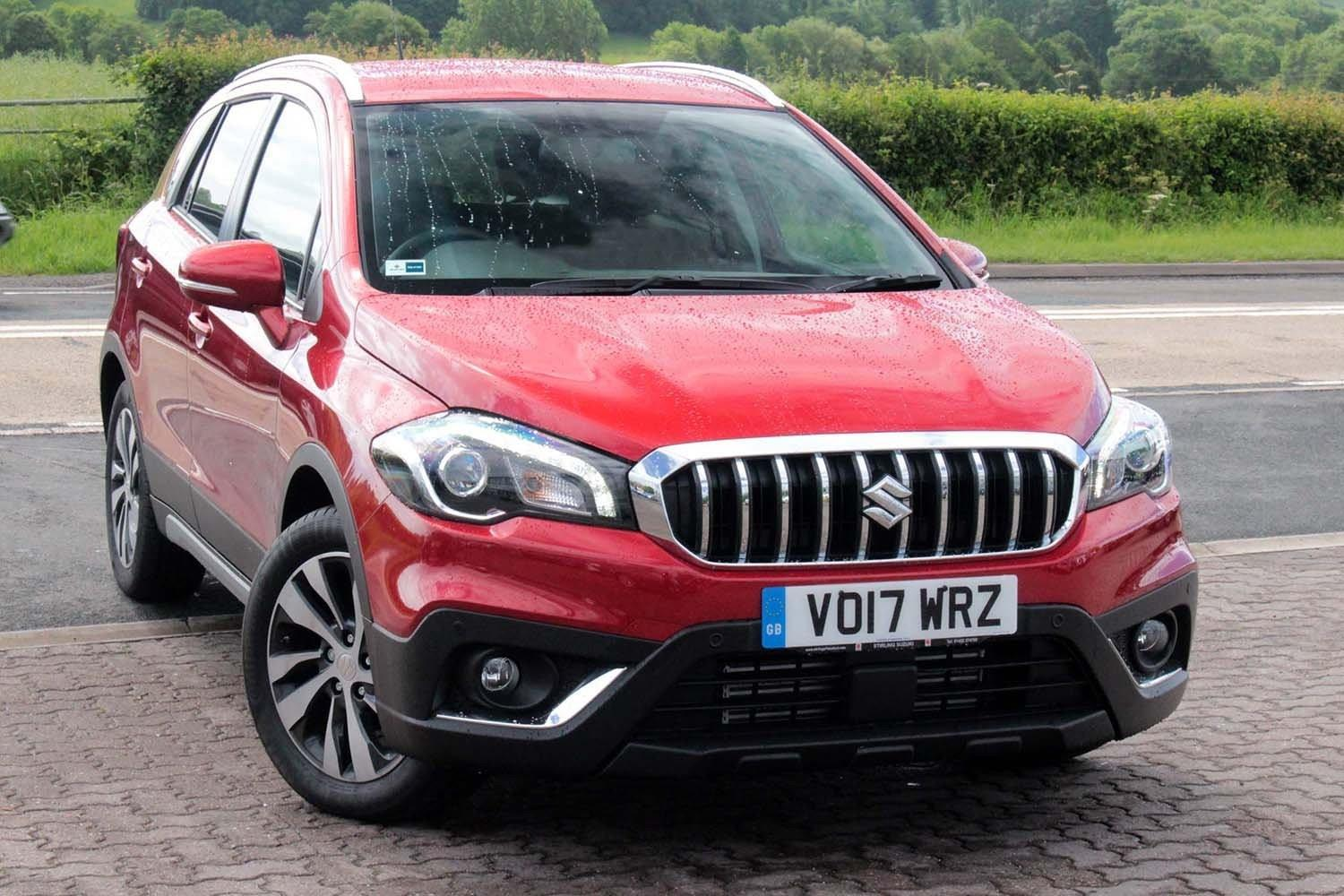Suzuki SX4 1.0 Boosterjet (110ps) SZ-T Station Wagon Petrol Energetic Red Metallic at Suzuki UCL Milton Keynes