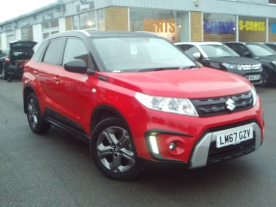 Suzuki Vitara 1.6 SZ-T [Rugged Pack] 5dr Auto Hatchback Petrol Red/black at Suzuki UCL Milton Keynes
