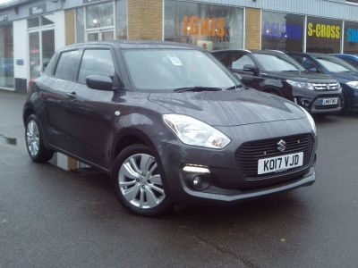 Suzuki Swift 1.0 Boosterjet SZ-T 5dr Hatchback Petrol Grey at Suzuki UCL Milton Keynes