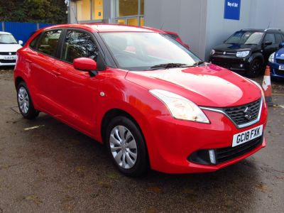 Suzuki Baleno 1.2 Hatchback SZ3 Hatchback Petrol Bright Red at Suzuki UCL Milton Keynes