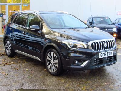 Suzuki Sx4 S-Cross 1.0 Hatchback SZ-T Hatchback Petrol Cosmic Black at Suzuki UCL Milton Keynes