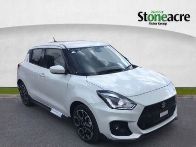 Suzuki Swift 1.4 Boosterjet Sport Hatchback 5dr Petrol (s/s) (140 ps) Hatchback Petrol White at Suzuki UCL Milton Keynes