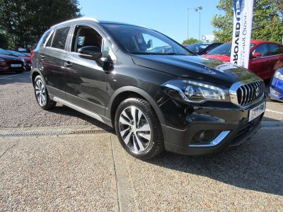 Suzuki Sx4 S-Cross 1.4 SZ5 BOOSTERJET ALLGRIP Hatchback Petrol Black at Suzuki UCL Milton Keynes