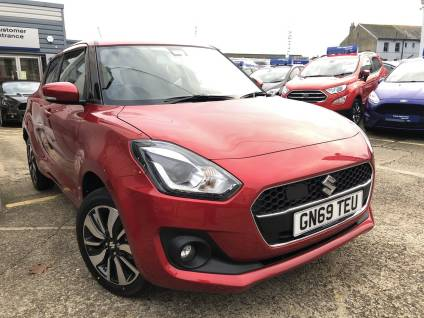 Suzuki Swift 1.2 SHVS SZ5 ALLGRIP 5dr HATCHBACK Petrol / Electric Hybrid Burning Red