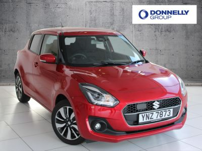Suzuki Swift 1.0 Hatchback SZ5 Hatchback Petrol / Electric Hybrid Burn Red at Suzuki UCL Milton Keynes