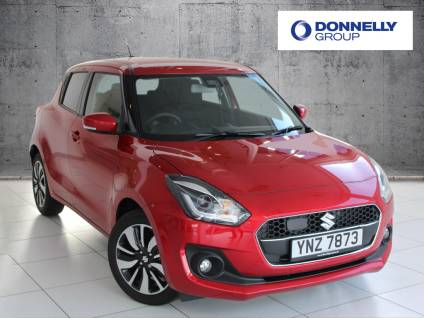 Suzuki Swift 1.0 Hatchback SZ5 Hatchback Petrol / Electric Hybrid Burn Red