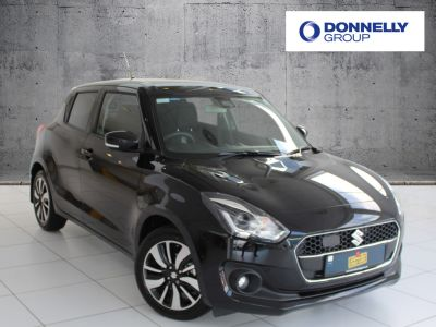 Suzuki Swift 1.0 Hatchback SZ5 Hatchback Petrol / Electric Hybrid Super black at Suzuki UCL Milton Keynes