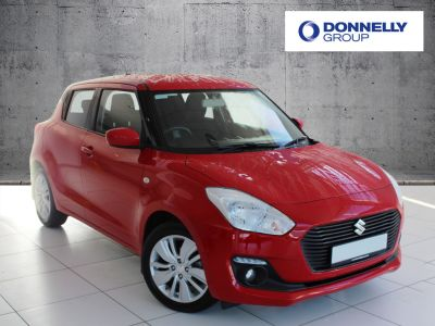 Suzuki Swift 1.0 Hatchback SZ-T Hatchback Petrol Red at Suzuki UCL Milton Keynes